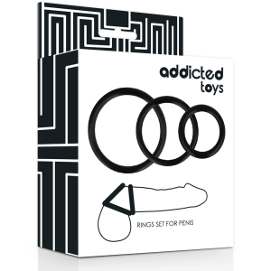 ADDICTED TOYS SET ANILLOS...